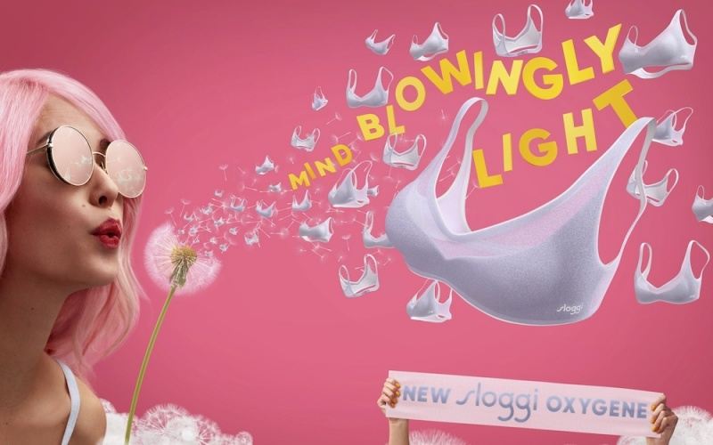 ENJOY A LIGHT AND AIRY SUMMER WITH SLOGGI OXYGENE*