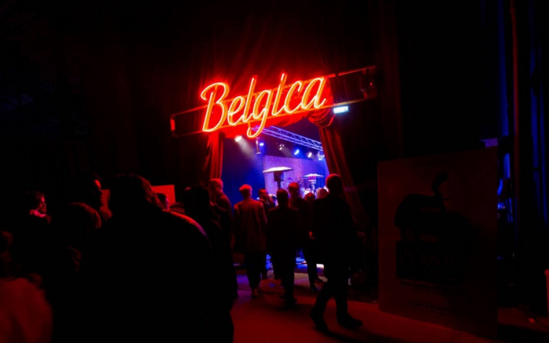Belgica Bar at the MIA's*